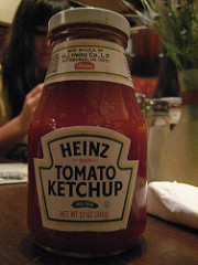 ketchup bottle photo